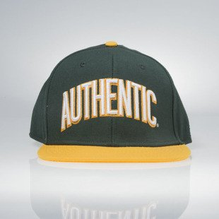 Vans Authentic Snapback green / yellow VN-0 ULJ9F1