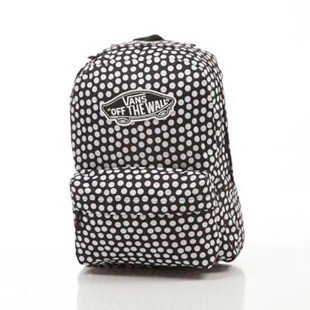 Vans Realm Backpack Oversize black / white VN000NZ0M9A