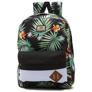 Vans backpack Old Skool II Backpack black decay palm VN000ONIKWH
