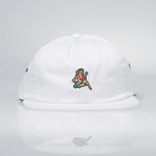 Vans czapka Just Waving Jockey Hat white VN0A2ZZ5WHT