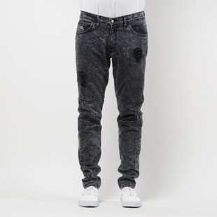 We Peace It Jeans Acid Wash Denim wash black