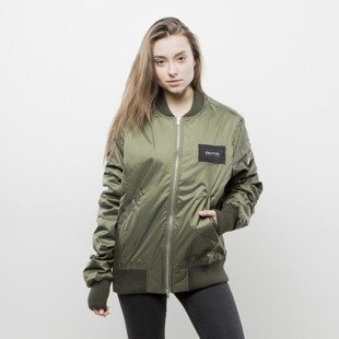 We Peace It Oblivion Bomber Jacket olive WMNS