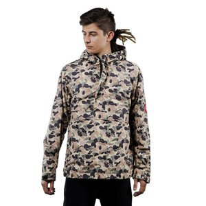 We Peace It Pullover Camo B & W beige camo