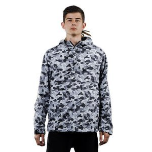 We Peace It Pullover Camo B & W grey camo