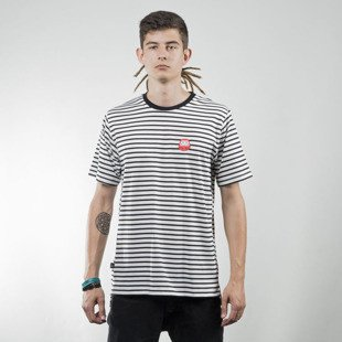 We Peace It T-shirt Stripes white