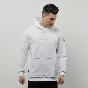 We Peace It  hoodie Oblivion Hoodie white