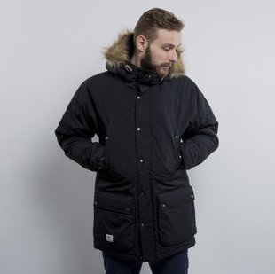 Winter Jacket Addict Ice Station Parka black