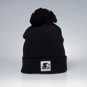 Winter beanie Starter Backboard Booble Knit black ST-3043
