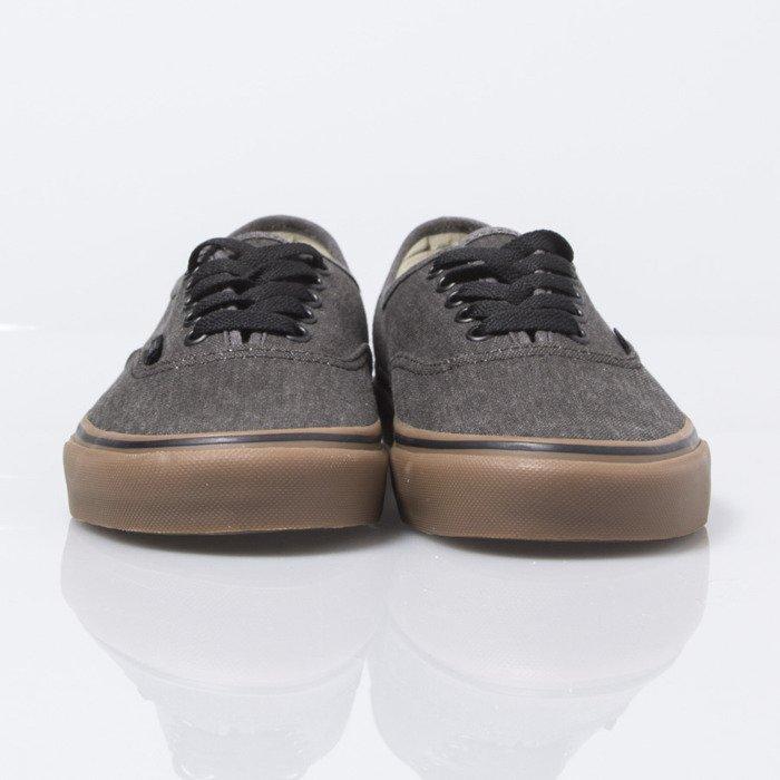 6be3a61e5e vans washed canvas authentic black gum