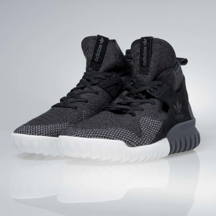 Adidas Mens Tubular Radial Sneakers in White & Grey Glue Store
