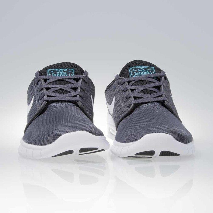 Nike Sb Stefan Janoski Max L Sneaker dark grey white
