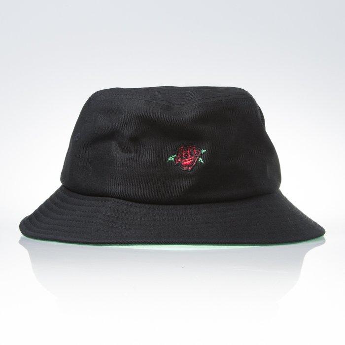 Obey Rose Bucket Hat Black Bludshop Com