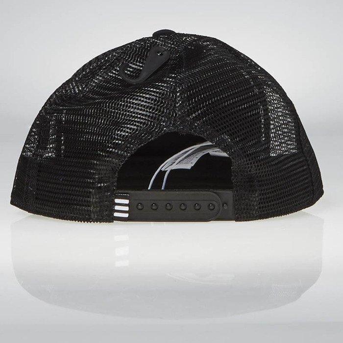 adidas originals mens running 5 panel strapback cap black