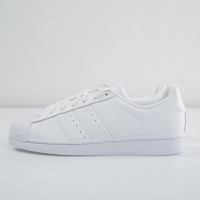 ADIDAS SUPERSTAR VULC ADV SKATE SHOES (White & Collegiate