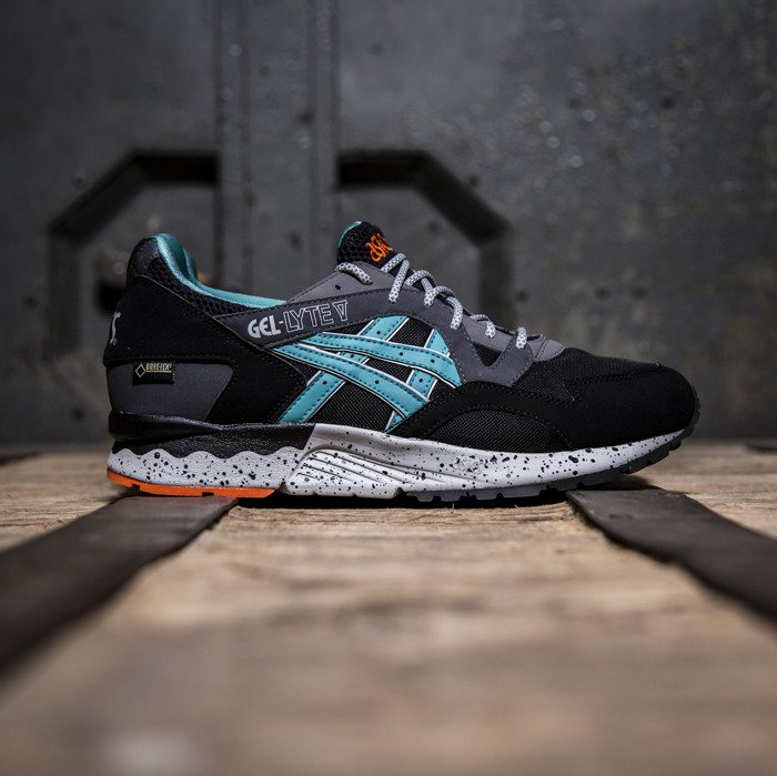 buty asics gel-lyte v black chili