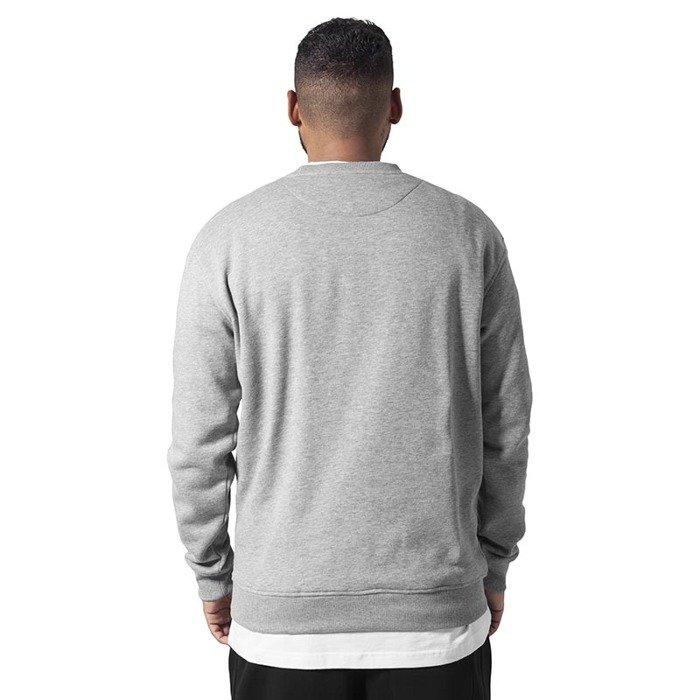urban classics crewneck sweatshirt grey bludshopcom
