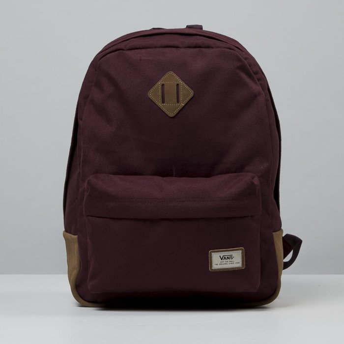 maroon vans backpack