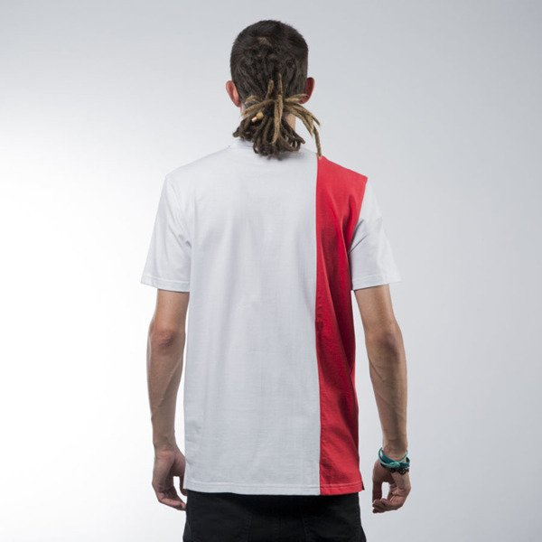 Koka International Polo white / red