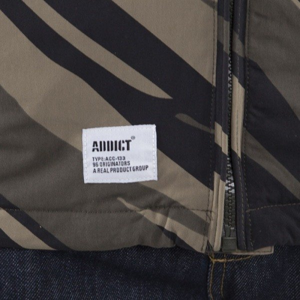 Addict jacket Delta black