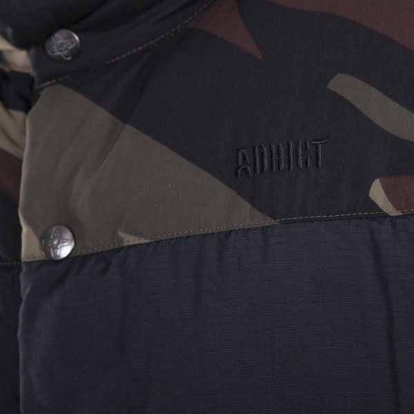Addict vest Mountain black / bush forest