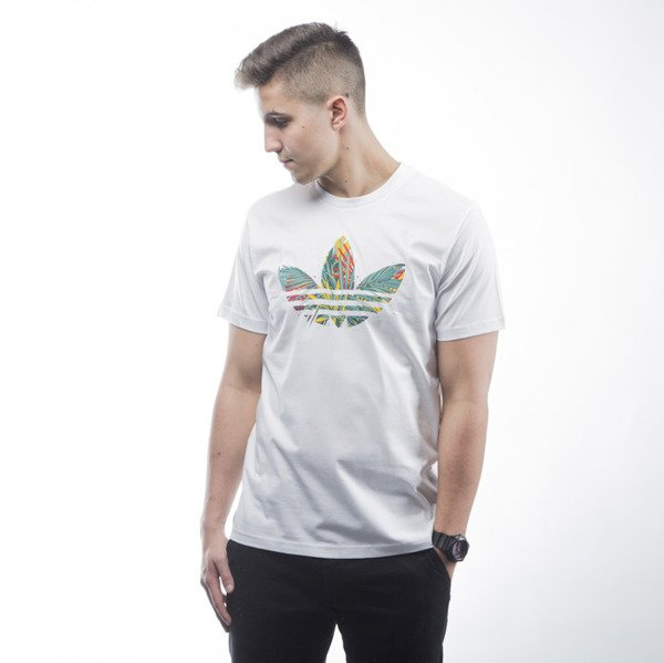 Adidas Originals t-shirt Jungle Tee white (AJ7121)