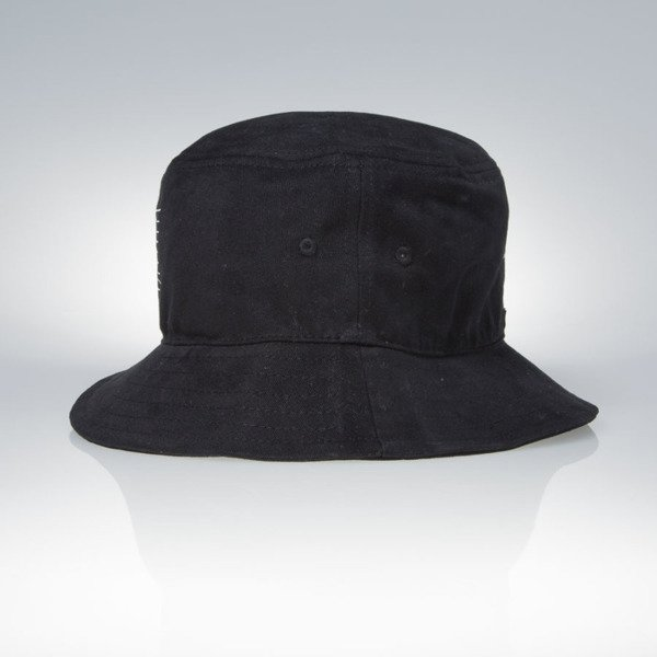 Admirable Wave Logo Bucket Hat black
