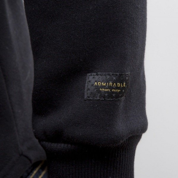 Admirable Wolf Town crewneck black