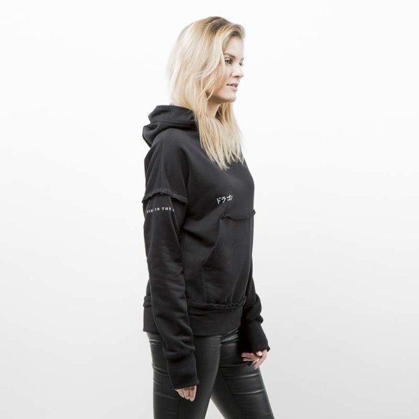 Admirable hoodie Dragon black wmns
