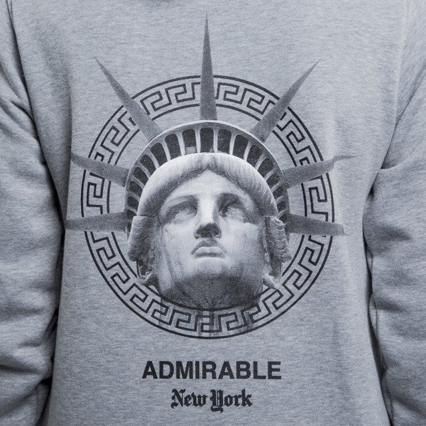 Admirable sweatshirt New York hoody heather grey