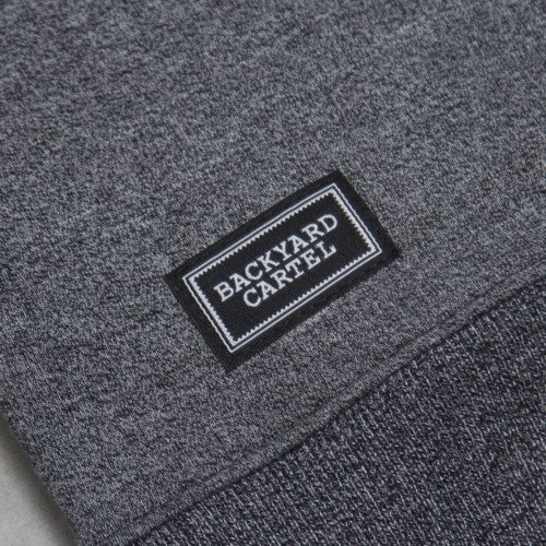 Backard Cartel sweatshirt  Neat Crew dark grey heather