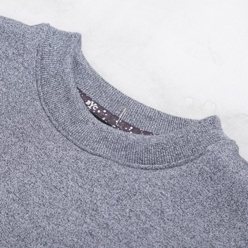 Backard Cartel sweatshirt  crewneck Gothica dark grey heather