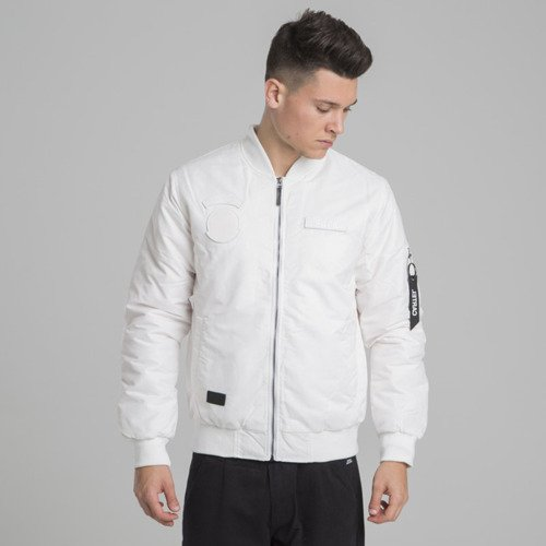 Backyard Cartel Apocalypse Bomber Jacket white