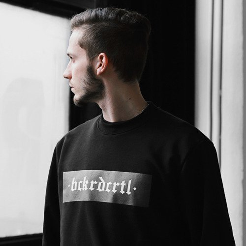 Backyard Cartel Crewneck Box black