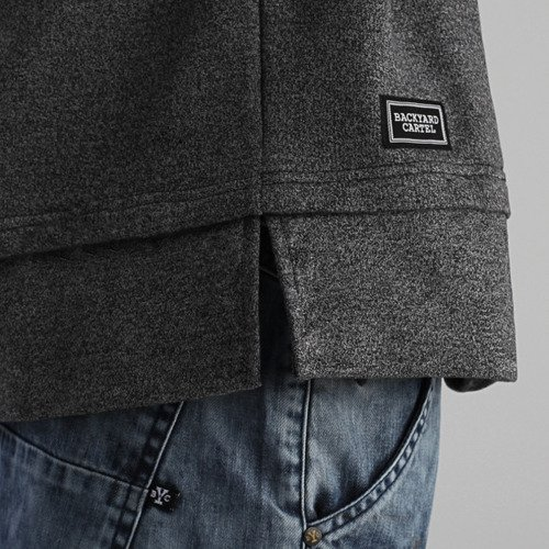 Backyard Cartel Crewneck Coach grey heather