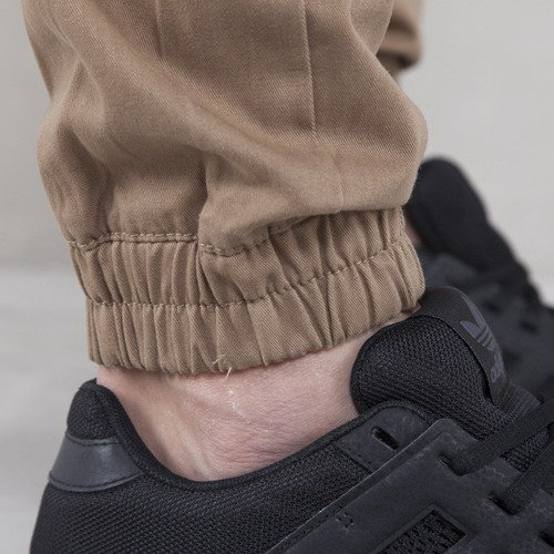 Backyard Cartel  Jogger Pants  jogger fit beige