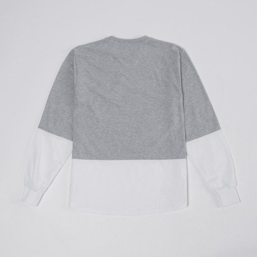 Backyard Cartel Longsleeve Trauma light heather grey