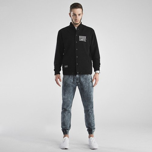 Backyard Cartel Varsity Sweatshirt Coach black