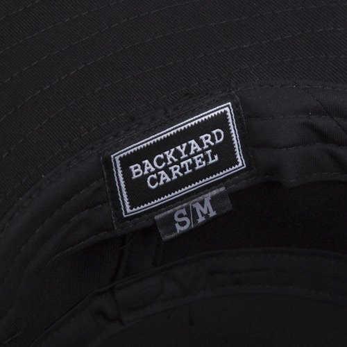 Backyard Cartel bucket hat Gothica black