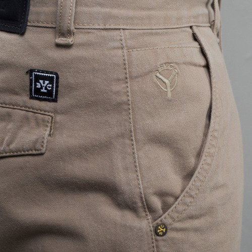 Backyard Cartel chino Band jogger fit beige
