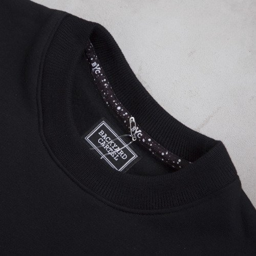 Backyard Cartel crewneck Acid Pocket black