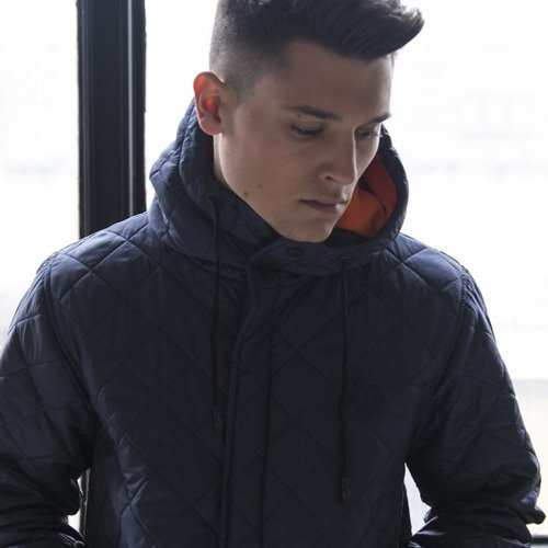 Backyard Cartel jacket Parka Padded navy