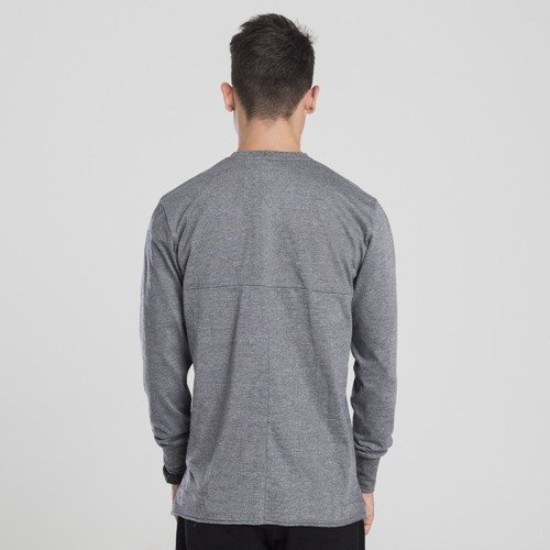 Backyard Cartel longsleeve Cut heather grey