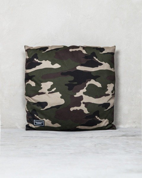 Backyard Cartel pillow Woodland Camo