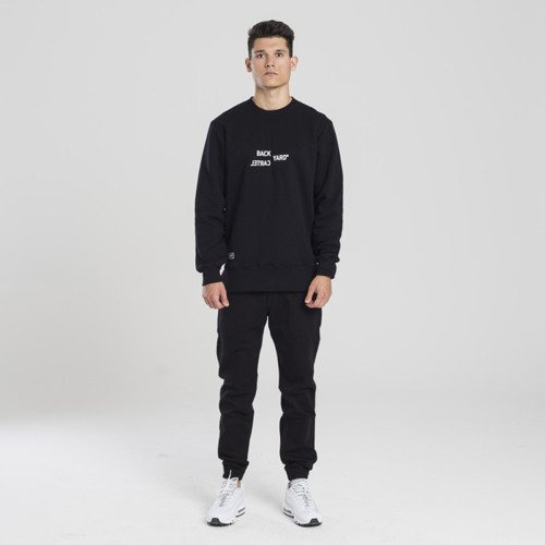 Backyard Cartel sweatshirt Broken crewneck black