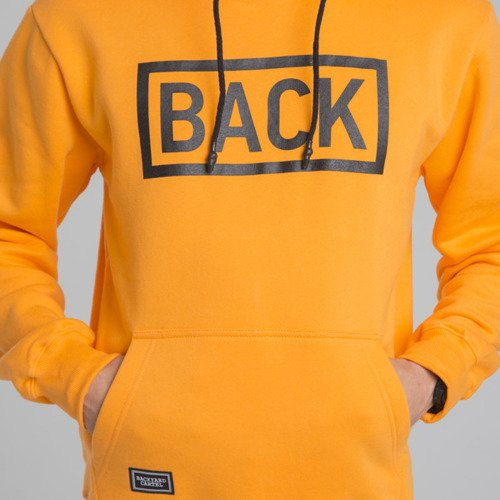 Backyard Cartel sweatshirt Inset hoody orange