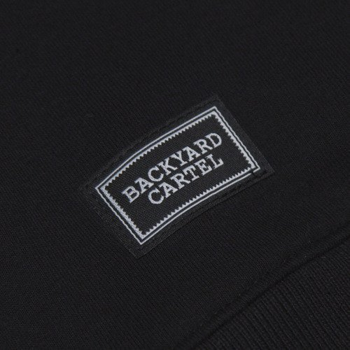 Backyard Cartel sweatshirt Neat Crew black / dark grey