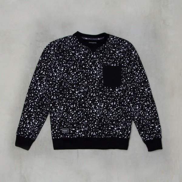 Backyard Cartel sweatshirt Splash Crew black