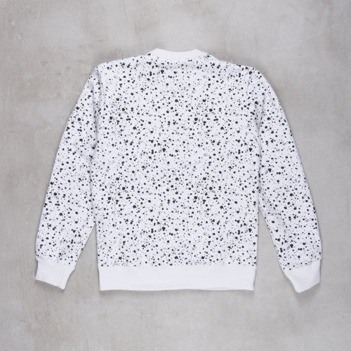 Backyard Cartel sweatshirt Splash Crew white