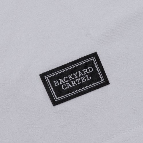 Backyard Cartel t-shirt Back white