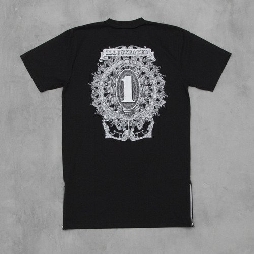 Backyard Cartel t-shirt In One We Trust black Illustrated